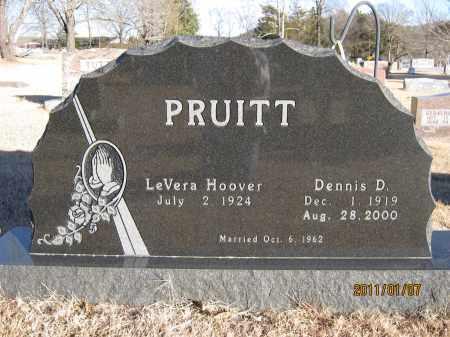 PRUITT, DENNIS D. - Newton County, Arkansas | DENNIS D. PRUITT - Arkansas Gravestone Photos