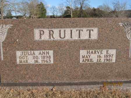 PRUITT, HARVE E. - Newton County, Arkansas | HARVE E. PRUITT - Arkansas Gravestone Photos