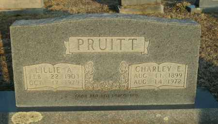 PRUITT, LILLIE A. - Newton County, Arkansas | LILLIE A. PRUITT - Arkansas Gravestone Photos