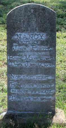 PRUITT, NANCY - Newton County, Arkansas   NANCY PRUITT - Arkansas Gravestone Photos