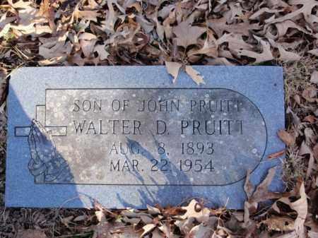 PRUITT, WALTER DIXON - Newton County, Arkansas   WALTER DIXON PRUITT - Arkansas Gravestone Photos