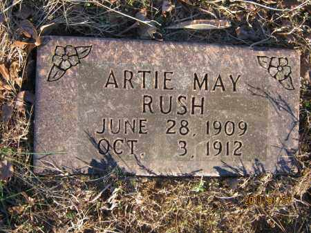 RUSH, ARTIE MAY - Newton County, Arkansas | ARTIE MAY RUSH - Arkansas Gravestone Photos
