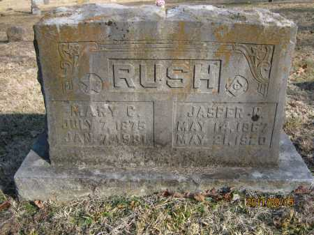 RUSH, JASPER N. - Newton County, Arkansas | JASPER N. RUSH - Arkansas Gravestone Photos