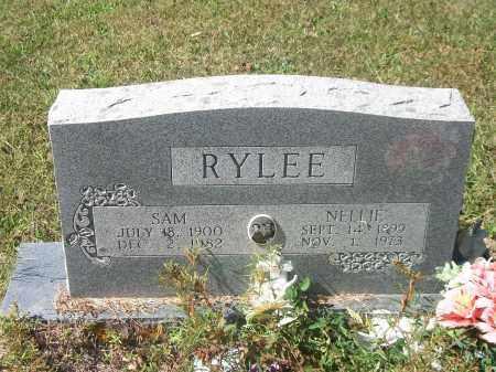 RYLEE, NELLIE - Newton County, Arkansas | NELLIE RYLEE - Arkansas Gravestone Photos