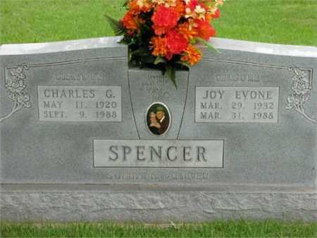 SPENCER, CHARLES G. - Newton County, Arkansas   CHARLES G. SPENCER - Arkansas Gravestone Photos