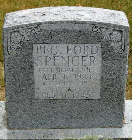 "SPENCER, DIAMOND ""FORD"" - Newton County, Arkansas 