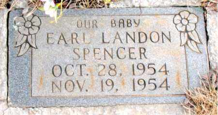 SPENCER, EARL LANDON - Newton County, Arkansas   EARL LANDON SPENCER - Arkansas Gravestone Photos