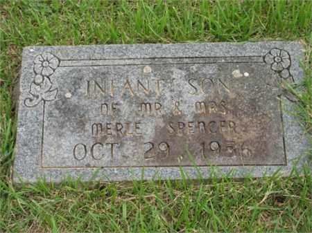 SPENCER, INFANT SON - Newton County, Arkansas | INFANT SON SPENCER - Arkansas Gravestone Photos