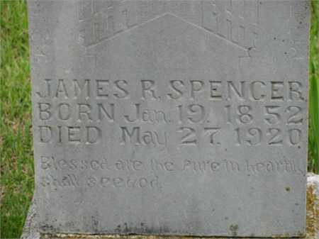 SPENCER, JAMES R. - Newton County, Arkansas | JAMES R. SPENCER - Arkansas Gravestone Photos