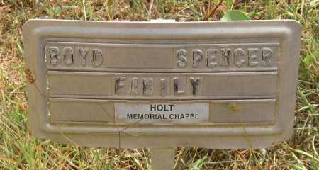 SPENCER, JAMES BOYD - Newton County, Arkansas   JAMES BOYD SPENCER - Arkansas Gravestone Photos