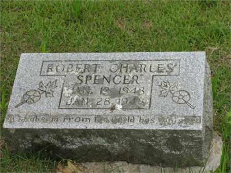 SPENCER, ROBERT CHARLES - Newton County, Arkansas | ROBERT CHARLES SPENCER - Arkansas Gravestone Photos