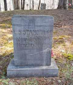 STANDRIDGE, LUCENDA S. - Newton County, Arkansas   LUCENDA S. STANDRIDGE - Arkansas Gravestone Photos