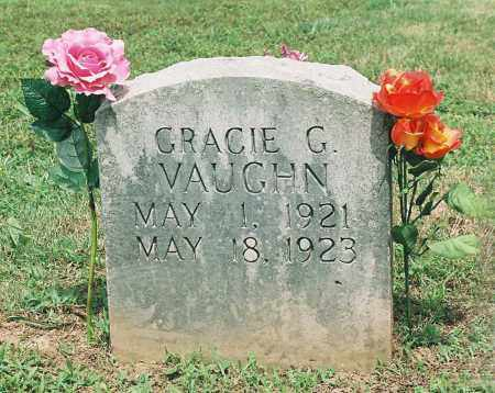 VAUGHN, GRACIE G. - Newton County, Arkansas   GRACIE G. VAUGHN - Arkansas Gravestone Photos