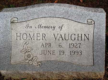 VAUGHN, HOMER - Newton County, Arkansas | HOMER VAUGHN - Arkansas Gravestone Photos
