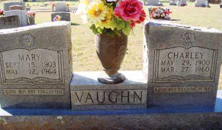 VAUGHN, CHARLEY - Newton County, Arkansas | CHARLEY VAUGHN - Arkansas Gravestone Photos