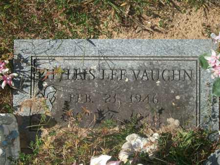 VAUGHN, PHYLLIS LEE - Newton County, Arkansas   PHYLLIS LEE VAUGHN - Arkansas Gravestone Photos