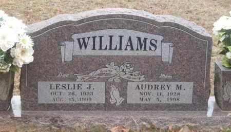 WILLIAMS, LESLIE J. - Newton County, Arkansas   LESLIE J. WILLIAMS - Arkansas Gravestone Photos