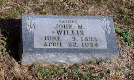 WILLIS, JOHN M. - Newton County, Arkansas | JOHN M. WILLIS - Arkansas Gravestone Photos