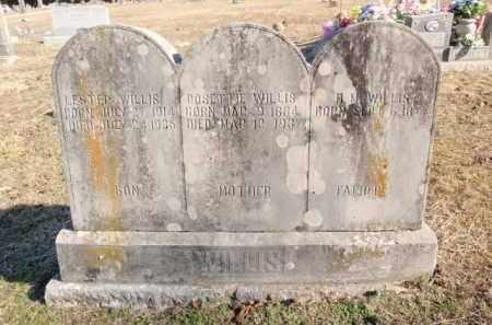 WILLIS, LESTER - Newton County, Arkansas | LESTER WILLIS - Arkansas Gravestone Photos
