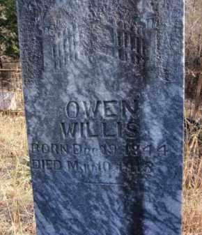 WILLIS, OWEN - Newton County, Arkansas   OWEN WILLIS - Arkansas Gravestone Photos