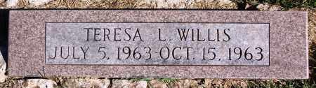 WILLIS, TERESA L. - Newton County, Arkansas | TERESA L. WILLIS - Arkansas Gravestone Photos