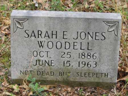 WOODELL, SARAH E. - Newton County, Arkansas | SARAH E. WOODELL - Arkansas Gravestone Photos