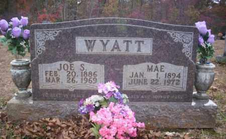 WYATT, MAE - Newton County, Arkansas   MAE WYATT - Arkansas Gravestone Photos