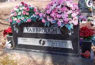 YARBROUGH, NORA EARLEENE - Newton County, Arkansas   NORA EARLEENE YARBROUGH - Arkansas Gravestone Photos