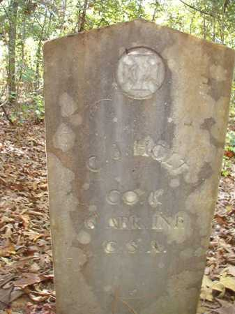 HOLT (VETERAN CSA), C J - Ouachita County, Arkansas | C J HOLT (VETERAN CSA) - Arkansas Gravestone Photos