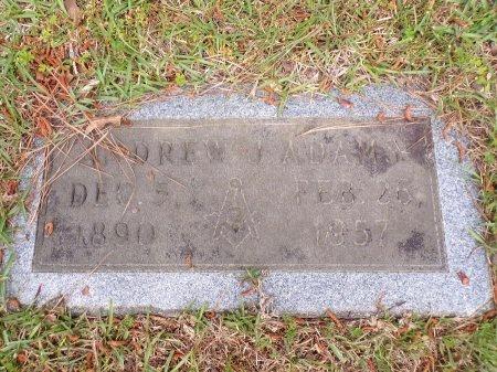 ADAMS, ANDREW J - Ouachita County, Arkansas | ANDREW J ADAMS - Arkansas Gravestone Photos