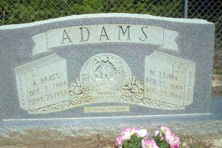 ADAMS, M LEONA - Ouachita County, Arkansas | M LEONA ADAMS - Arkansas Gravestone Photos