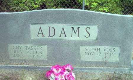 ADAMS, COY TASKER - Ouachita County, Arkansas | COY TASKER ADAMS - Arkansas Gravestone Photos