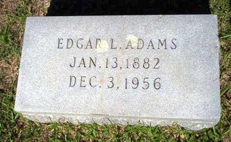 ADAMS, EDGAR LEE - Ouachita County, Arkansas | EDGAR LEE ADAMS - Arkansas Gravestone Photos