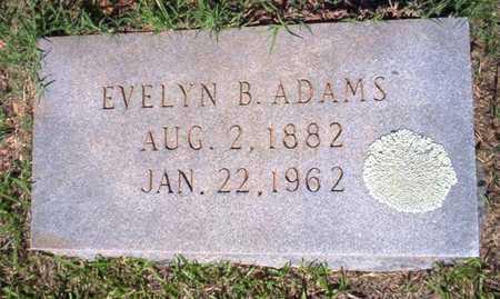 ADAMS, EVELYN - Ouachita County, Arkansas   EVELYN ADAMS - Arkansas Gravestone Photos