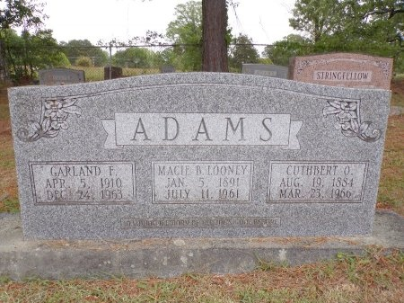 ADAMS, GARLAND F - Ouachita County, Arkansas | GARLAND F ADAMS - Arkansas Gravestone Photos