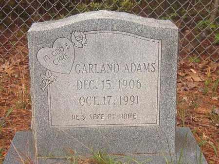 ADAMS, GARLAND - Ouachita County, Arkansas   GARLAND ADAMS - Arkansas Gravestone Photos