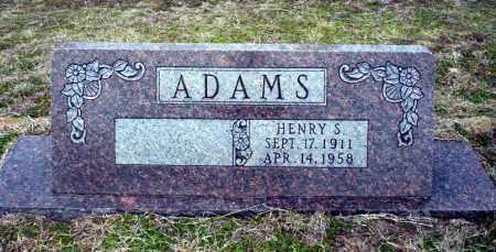 ADAMS, HENRY S - Ouachita County, Arkansas | HENRY S ADAMS - Arkansas Gravestone Photos