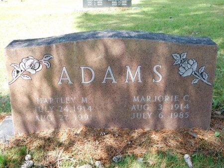 ADAMS, MARJORIE - Ouachita County, Arkansas   MARJORIE ADAMS - Arkansas Gravestone Photos