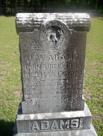"ADAMS, JAMES WILBURN ""WILL"" - Ouachita County, Arkansas 