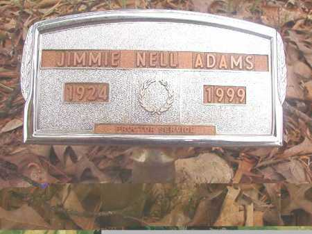ADAMS, JIMMIE NELL - Ouachita County, Arkansas   JIMMIE NELL ADAMS - Arkansas Gravestone Photos