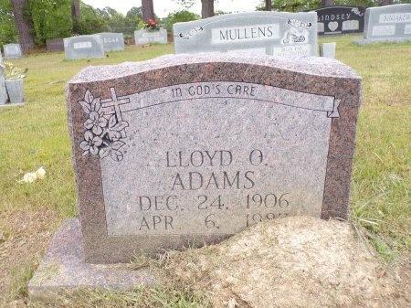 ADAMS, LLOYD O - Ouachita County, Arkansas | LLOYD O ADAMS - Arkansas Gravestone Photos