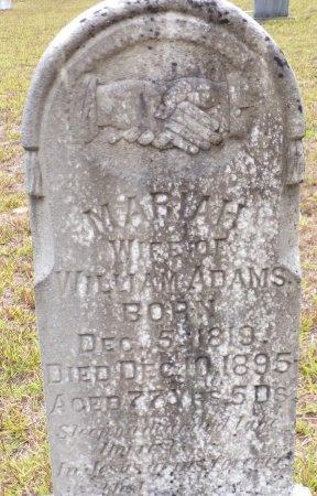 ADAMS, MARIAH (CLOSE UP) - Ouachita County, Arkansas | MARIAH (CLOSE UP) ADAMS - Arkansas Gravestone Photos