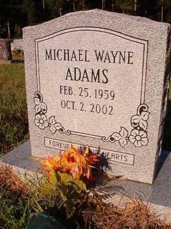 ADAMS, MICHAEL WAYNE - Ouachita County, Arkansas | MICHAEL WAYNE ADAMS - Arkansas Gravestone Photos