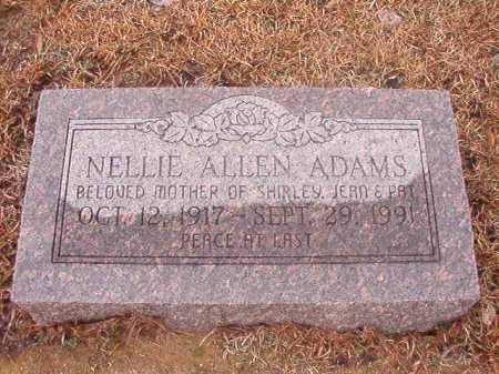 ADAMS, NELLIE - Ouachita County, Arkansas   NELLIE ADAMS - Arkansas Gravestone Photos