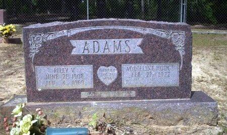 ADAMS, RILEY V - Ouachita County, Arkansas   RILEY V ADAMS - Arkansas Gravestone Photos