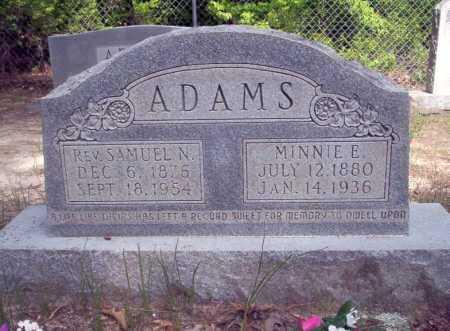 ADAMS, SAMUEL N., REV - Ouachita County, Arkansas | SAMUEL N., REV ADAMS - Arkansas Gravestone Photos
