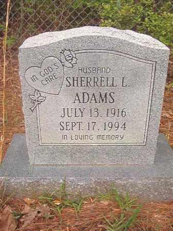 ADAMS, SHERRELL L - Ouachita County, Arkansas | SHERRELL L ADAMS - Arkansas Gravestone Photos