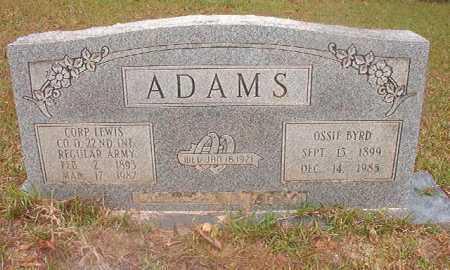 ADAMS, OSSIE - Ouachita County, Arkansas | OSSIE ADAMS - Arkansas Gravestone Photos