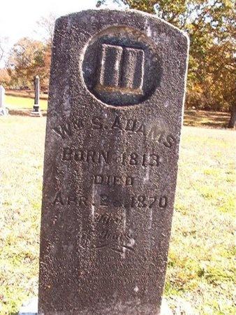 ADAMS, WILLIAM S - Ouachita County, Arkansas   WILLIAM S ADAMS - Arkansas Gravestone Photos