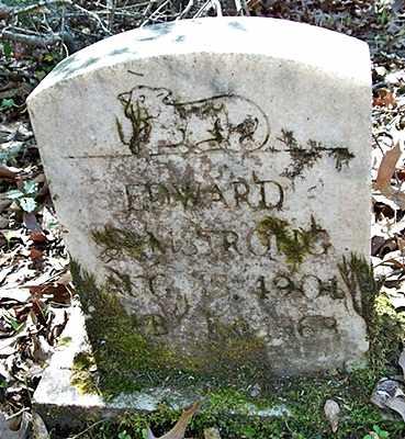 ARMSTRONG, EDWARD - Ouachita County, Arkansas | EDWARD ARMSTRONG - Arkansas Gravestone Photos